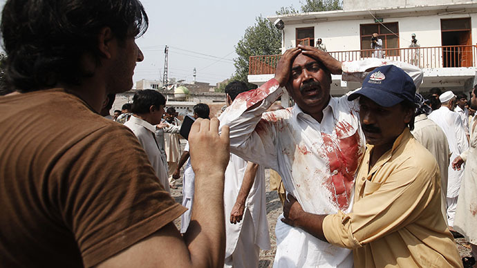 At least 78 killed in Pakistan church double suicide bombing