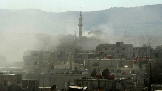 View of Damascus. (AFP Photo / Ammar al-Arbini)