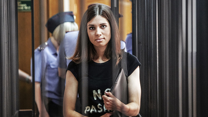 Pussy Riot member Nadezhda Tolokonnikova (RIA Novosti / Andrey Stenin)