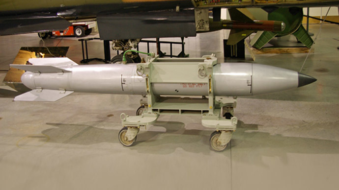 Aging US atomic bomb caught in strategic tug-of-war — RT ...