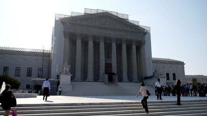 The U.S. Supreme Court building in Washington DC. (Mark Wilson/Getty Images/AFP)