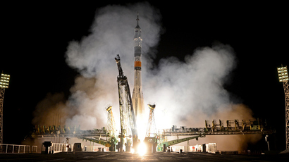 Russia's Soyuz TMA spacecraft blasts off from the Russian leased Kazakh Baikonur cosmodrome (AFP Photo / Kirill Kudryavtsev)