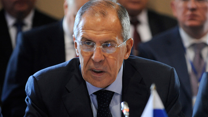 Russia's Foreign Minister Sergei Lavrov (AFP Photo)