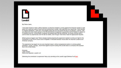Lavabit appeals government order to divulge its private keys