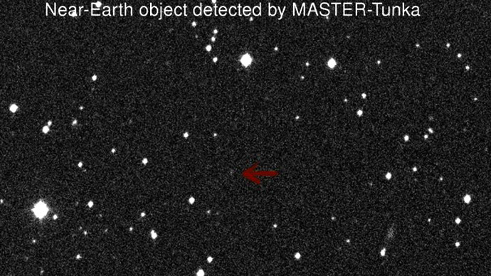 Asteroid near-miss reported by Russian scientists