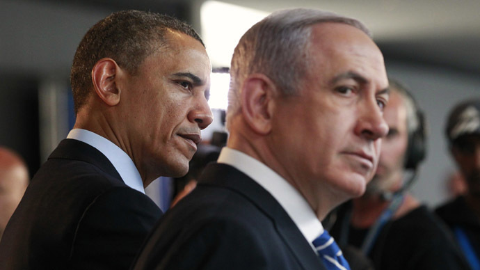 US President Barack Obama and Israeli Prime Minister Benjamin Netanyahu (Reuters/Jason Reed)