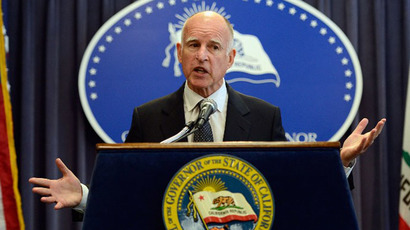 California Gov. Jerry Brown (AFP Photo / Getty Images / Kevork Djansezian)