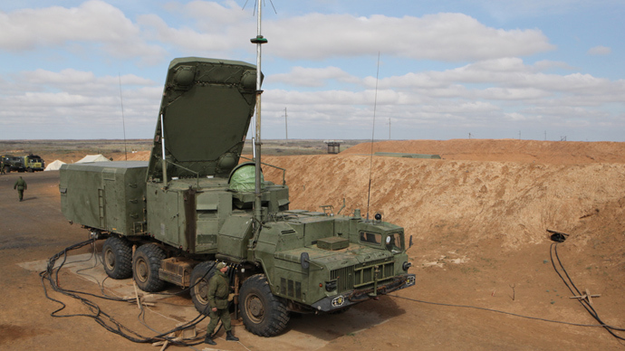 Servicemen of the association of aerospace defense of the Central Military District deploy a command post with an acquisition radar of the S-300PS air defense system  (RIA Novosti / Vladislav Belogrud)
