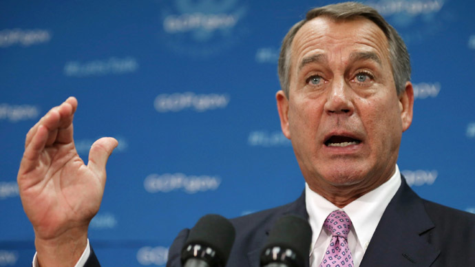 Boehner prepares to let the US default