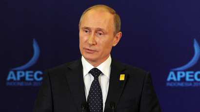 Forbes ranks Putin world's most powerful person, downs Obama