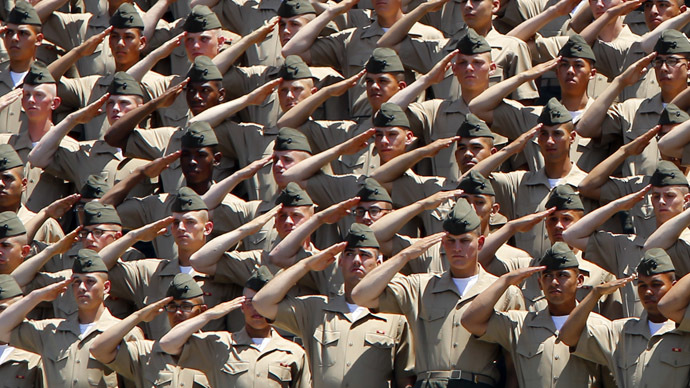 U.S. Marines (Reuters/Mike Blake)
