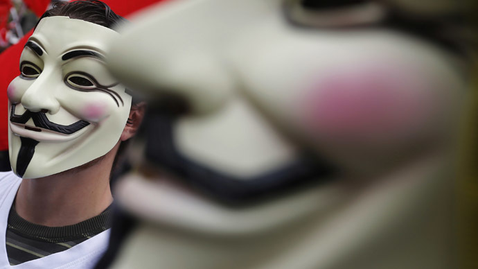 Anonymous plans Million Mask March on Washington