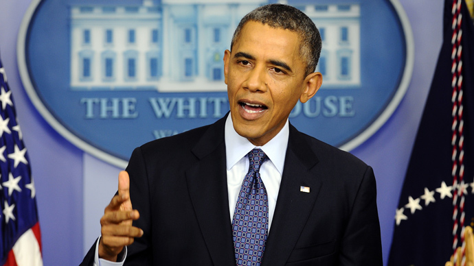 Obama not ready for negotiations with Republicans until end of govt shutdown