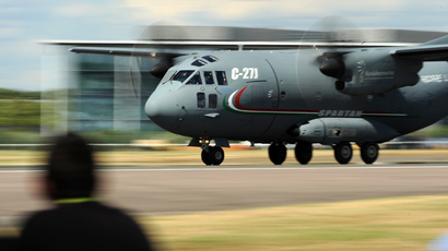 Spartan C27J (AFP Photo / Ben Stansall)