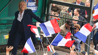 President of the French far-right Front National (FN) party Marine Le Pen (AFP Photo / Francois Nascimbeni)