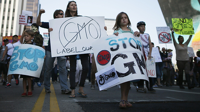 Washington state sues lobbying group opposed to GMO food labeling effort