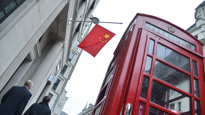 London to become Chinese offshore banking center