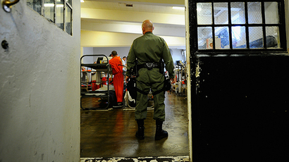 Chino State Prison in Chino, California. (AFP Photo / Getty Images / Kevork Djansezian)