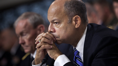 Jeh Johnson (Brendan Smialowski / Getty Images / AFP)