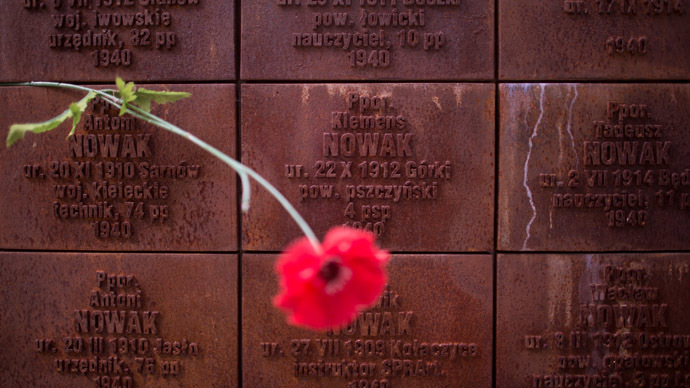 Russia did not violate rights of Katyn victims' relatives – ECHR