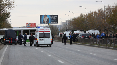 Shocking dashcam video catches moment of deadly Volgograd terrorist attack on bus