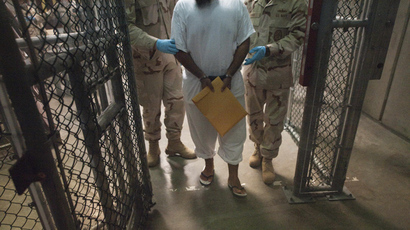 Best served with olive oil: Gitmo staffer describes force feeding to RT