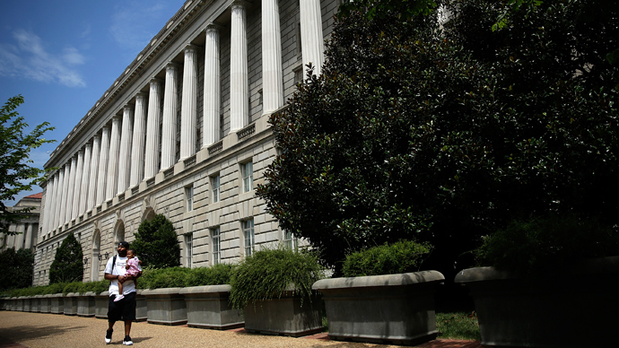 The Internal Revenue Service Building in Washington, DC (AFP Photo / Win McNamee)