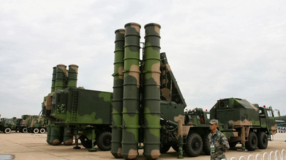 China's FD-2000 / HQ-9 SAM system (Image from http://chinesemilitaryreview.blogspot.com)