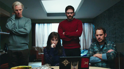 Screenshot from 'The Fifth Estate'
