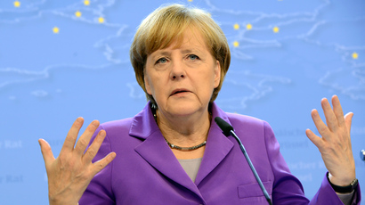 Germany's Federal Chancellor Angela Merkel (AFP Photo / Thierry Charlier)