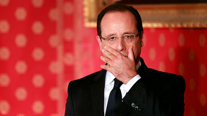 French President Francois Hollande (AFP Photo / Pascal Pochard Casabianca)