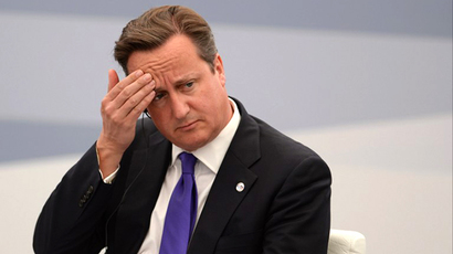 British Prime Minister David Cameron (AFP Photo / Alexey Filippov)