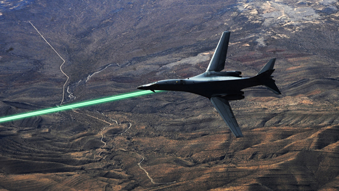 DARPA developing drone-mounted lasers to shoot down missiles