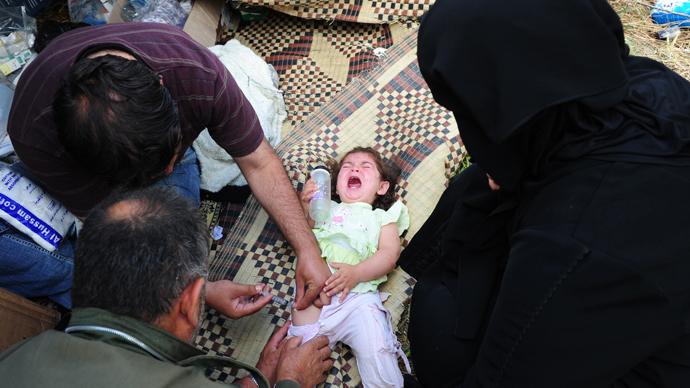 un confirms polio outbreak in syria aid agencies call for