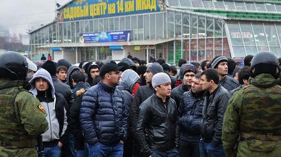 Migrants seek Russian military service to oppose 'aggressive pressure from West'