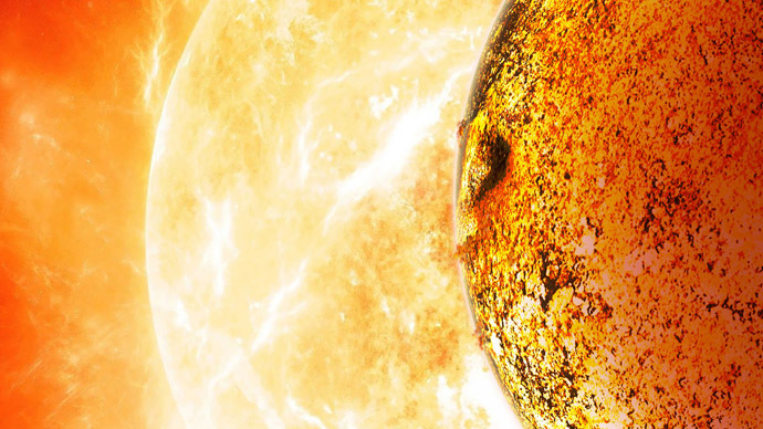 Astronomers discover infernal earth-like planet that 'shouldn't be'