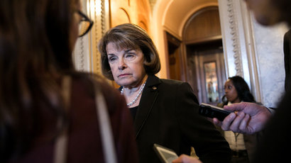 Sen. Dianne Feinstein.(AFP Photo / Drew Angerer)