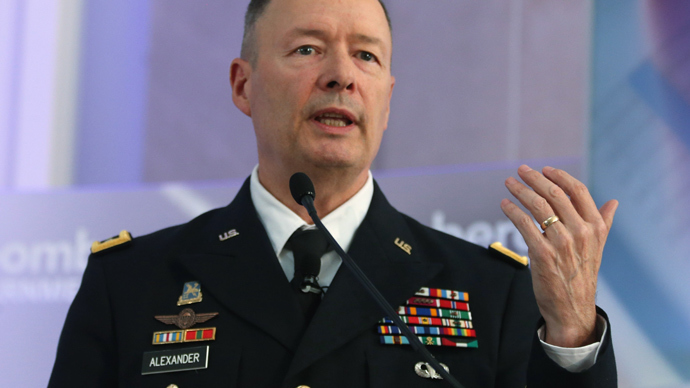 U.S. Army Gen. Keith Alexander, director of the National Security Agency and commander of U.S. Cyber Command (Mark Wilson / Getty Images / AFP)