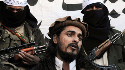 Pakistani Taliban commander Hakimullah Mehsud.(AFP Photo / A Majeed)