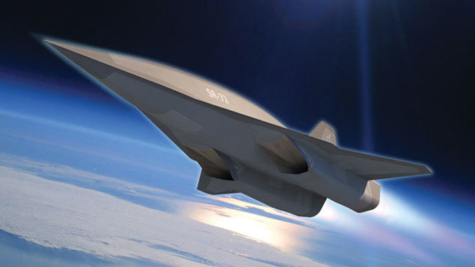 Lockheed Martin announces plans for SR-72 hypersonic spy drone
