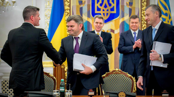 Ukraine ramps up shale revolution, signs $10bn gas deal with Chevron