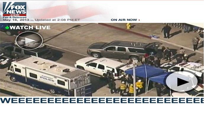 Not the real news (foxnews.com screencap)