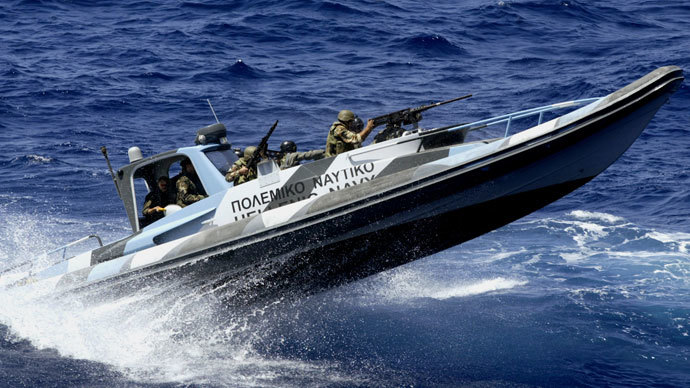 Greece intercepts mystery ship with 20,000 Kalashnikovs onboard