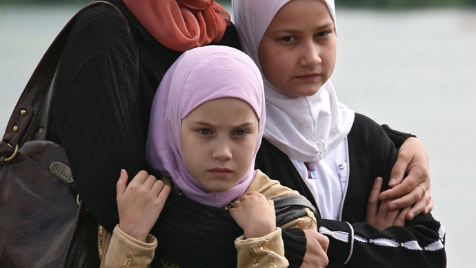 Veiled threats? Children's hijab show canceled, Cossacks blamed
