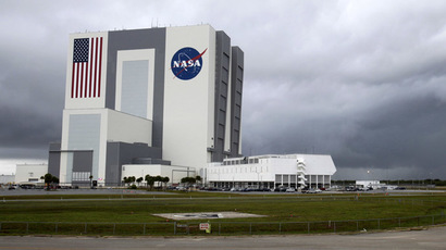 NASA's huge Vehicle Assembly Building in Cape Canaveral, Florida (Reuters/Pierre DuCharme)