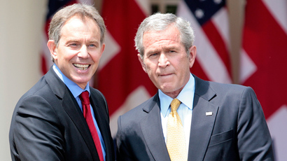 Washington stalls UK's Iraq war inquiry? London claims 'no US veto' over Blair-Bush notes