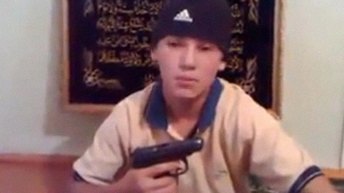 Trick-or-treat: Children in Russia's North Caucasus record militant-style threatening videos