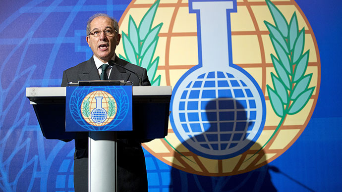 OPCW adopts new Syria chem weapons plan after Albania ...