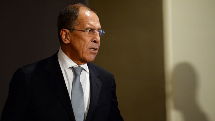 Russia's Foreign Minister Sergey Lavrov (AFP Photo / Stan Honda)