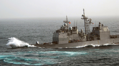 USS Chancellorsville (AFP Photo / US NAVY)